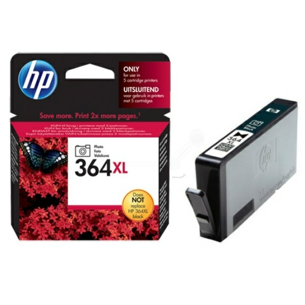 HP Tintenpatrone Nr. 364XL schwarz foto CB322EE