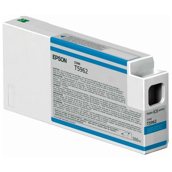Epson Tintenpatrone T5962 cyan C13T596200