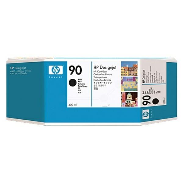 HP Tintenpatrone Nr. 90 schwarz C5058A