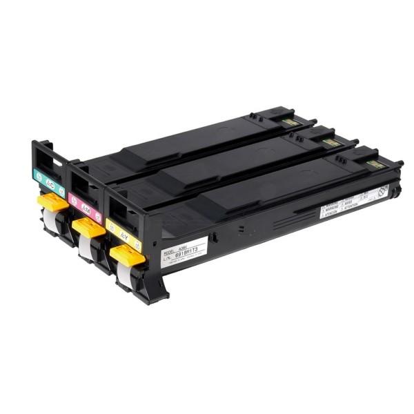 Konica Minolta Toner A06VJ53 C,M,Y Rainbow-Kit