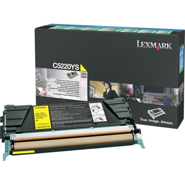 Lexmark Toner C5220YS gelb