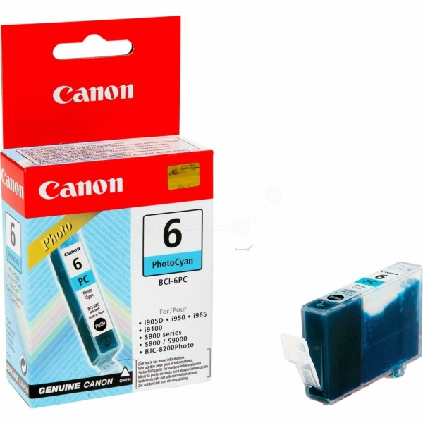 Canon Tintenpatrone BCI-6PC cyan hell 4709A002