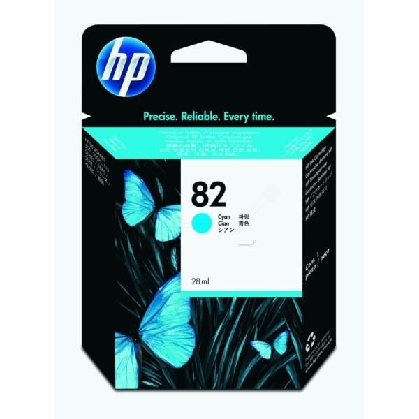 HP Tintenpatrone Nr. 82 cyan CH566A