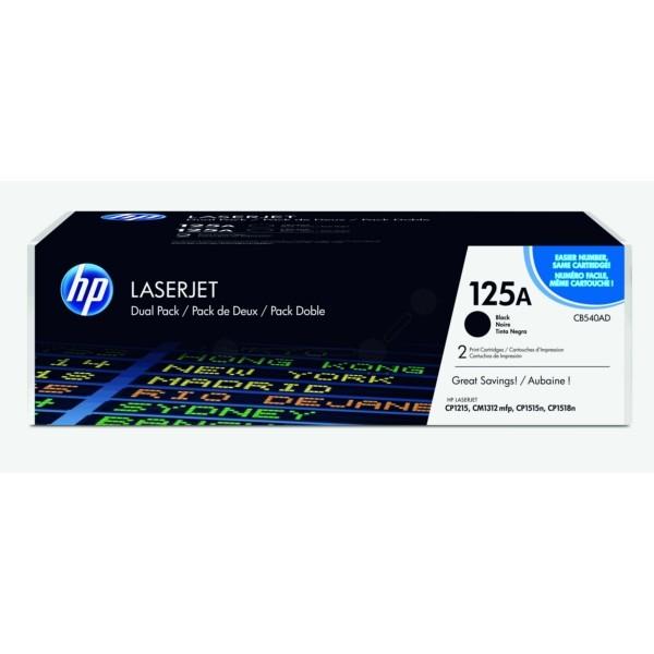 HP Toner schwarz CB540AD 125A