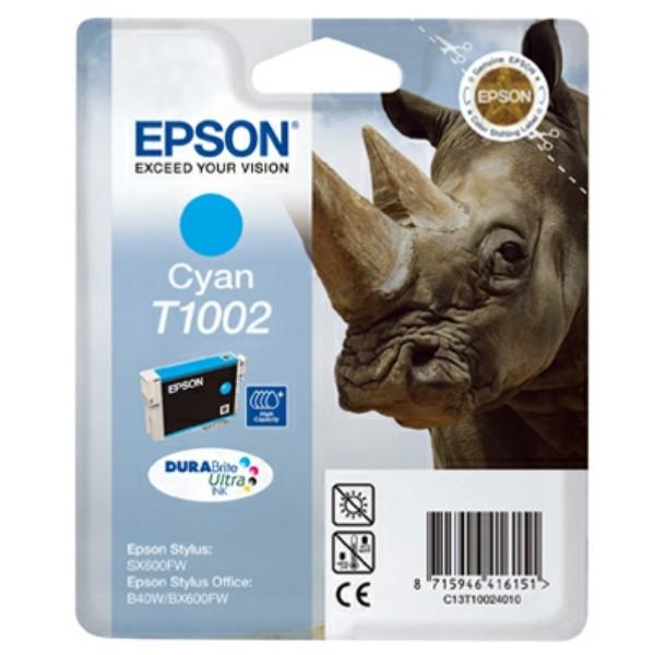 Epson Tintenpatrone T1002 cyan C13T10024010