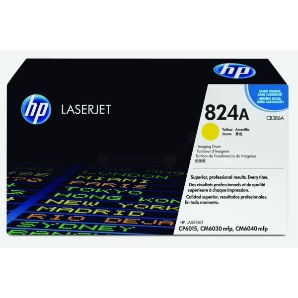 HP Trommeleinheit 824A gelb CB386A