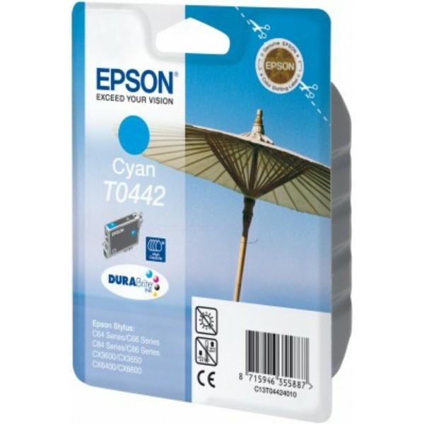 Epson Tintenpatrone T0442 cyan C13T04424010