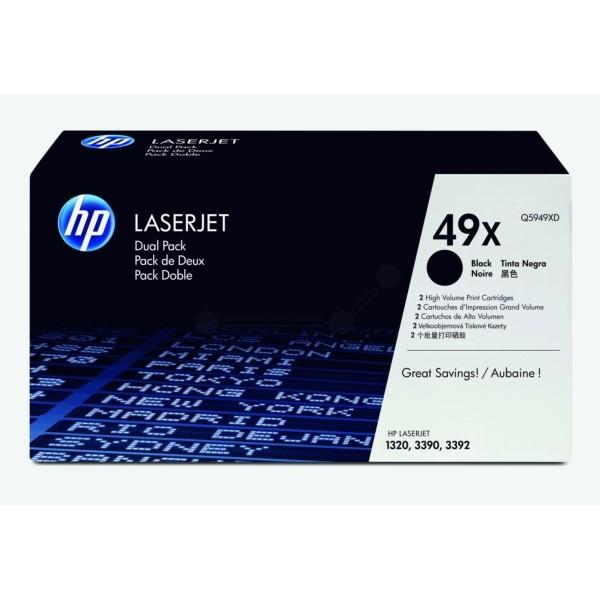 HP Toner 49X schwarz Q5949XD VE=2