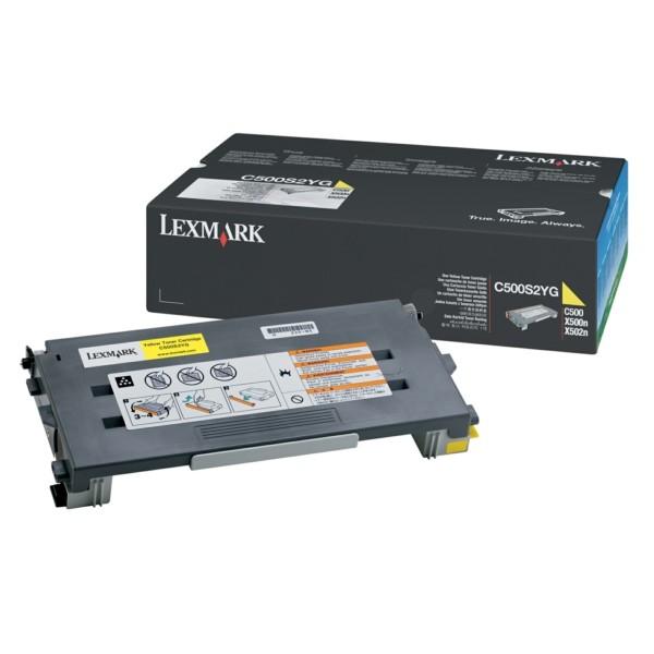 Lexmark Toner C500S2YG gelb