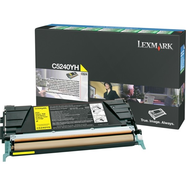 Lexmark Toner C5240YH gelb