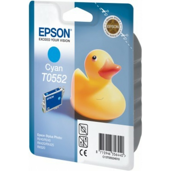 Epson Tintenpatrone T0552 cyan C13T05524010