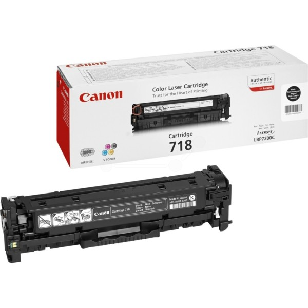 Canon Toner 718BK schwarz 2662B002
