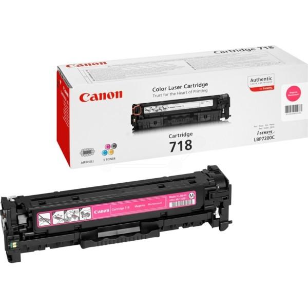 Canon Toner 718M magenta 2660B002