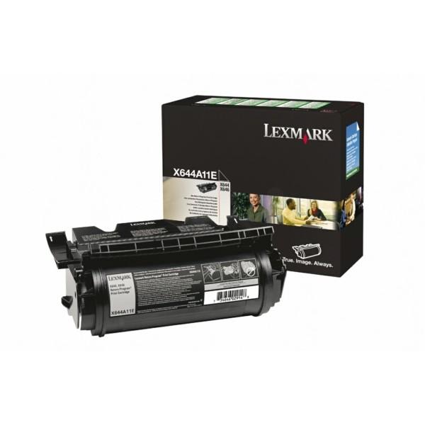 Lexmark Toner X644A11E schwarz