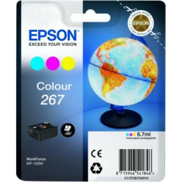 Epson Tintenpatrone color C13T26704010 267