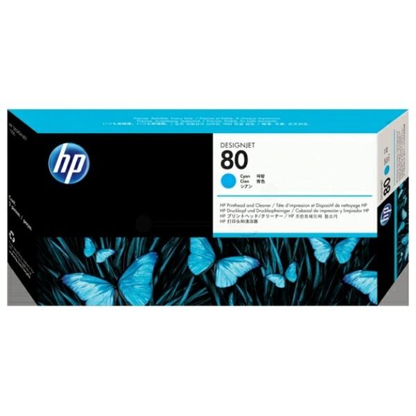HP Druckkopf Nr. 80 cyan C4821A