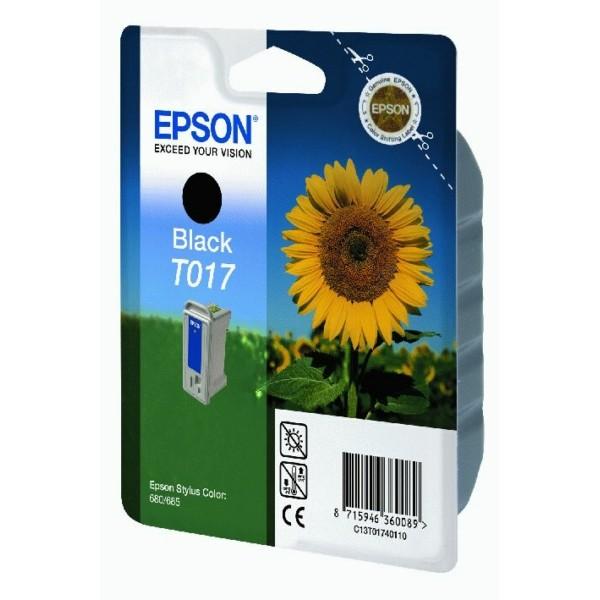 Epson Tintenpatrone T017 schwarz C13T01740110