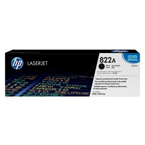 HP Toner 822A schwarz C8550A