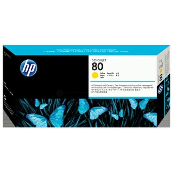 HP Druckkopf Nr. 80 gelb C4823A