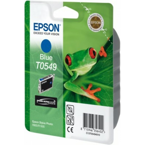 Epson Tintenpatrone T0549 blau C13T05494010
