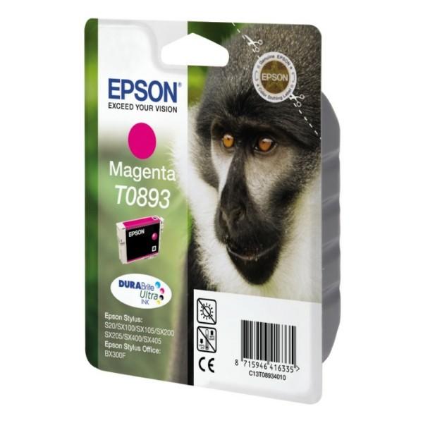 Epson Tintenpatrone T0893 magenta C13T08934010