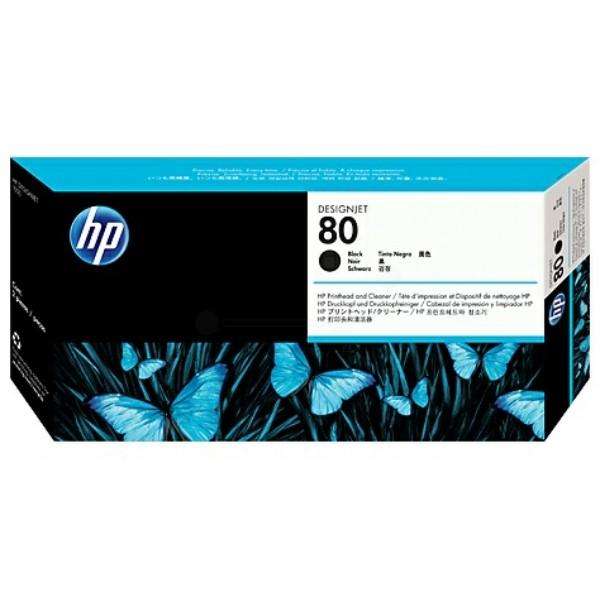 HP Druckkopf Nr. 80 schwarz C4820A