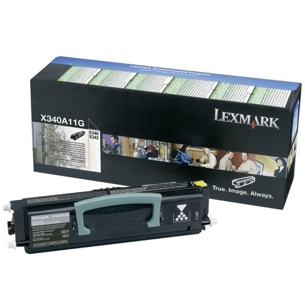 Lexmark Toner X340A11G schwarz