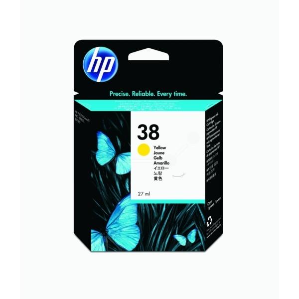 HP Tintenpatrone Nr. 38 gelb C9417A