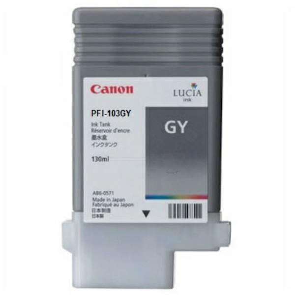 Canon Tintenpatrone PFI-103GY grau 2213B001