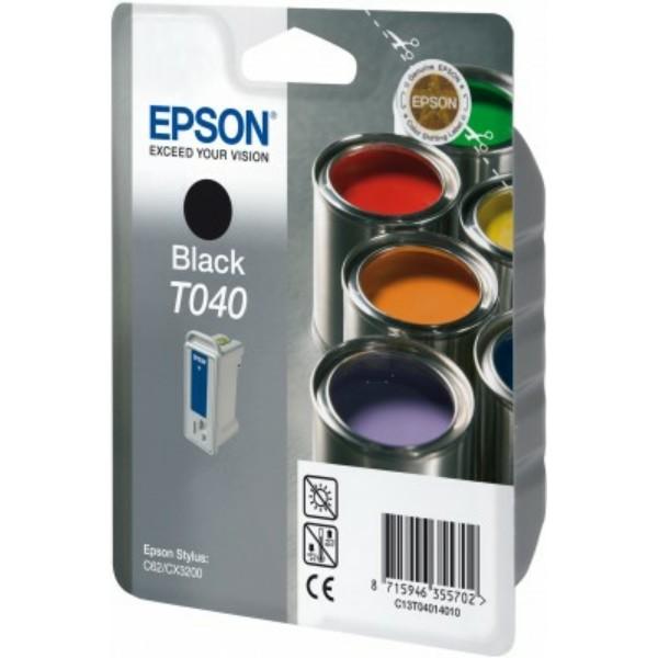 Epson Tintenpatrone T040 schwarz C13T04014010