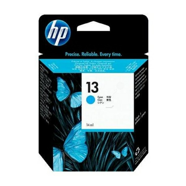 HP Tintenpatrone Nr. 13 cyan C4815AE