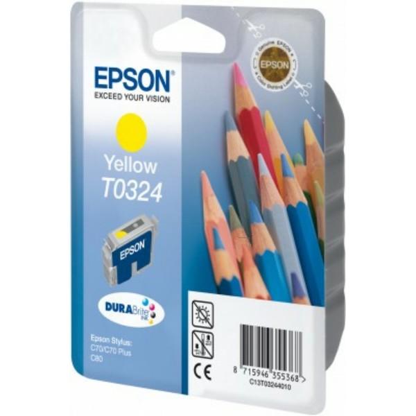 Epson Tintenpatrone T0324 gelb C13T03244010