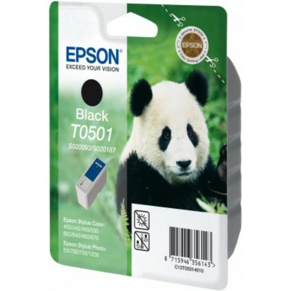 Epson Tintenpatrone T0501 schwarz C13T05014010