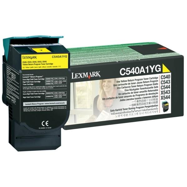 Lexmark Toner C540A1YG gelb