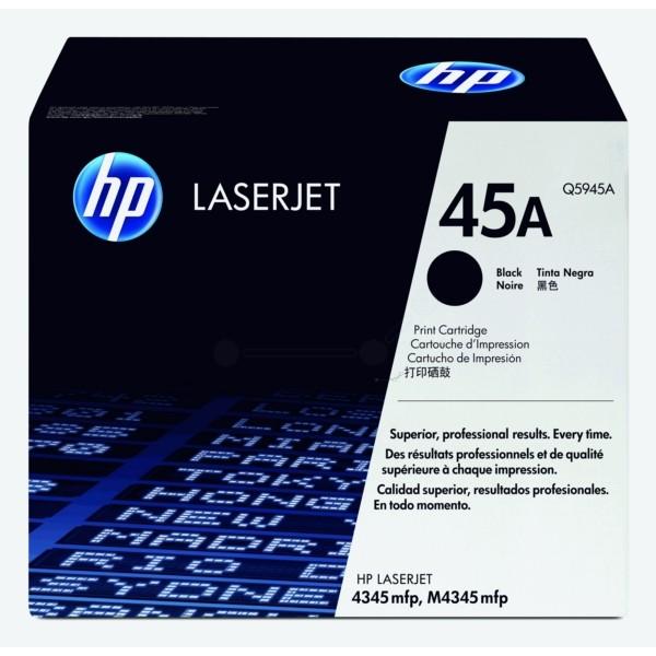 HP Toner 45A schwarz Q5945A