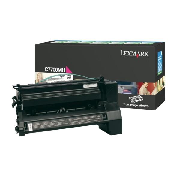 Lexmark Toner C7700MH magenta