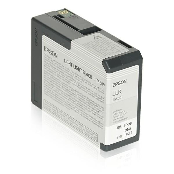 Epson Tintenpatrone T5809 schwarz hell C13T580900