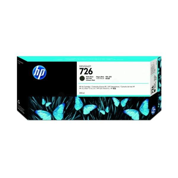 HP Tintenpatrone Nr. 726 schwarz matt CH575A