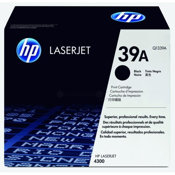 HP Toner 39A schwarz Q1339A