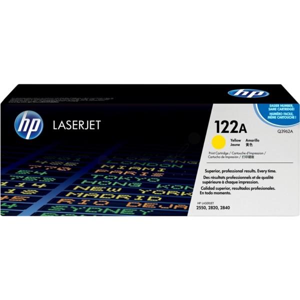 HP Toner 122A gelb Q3962A