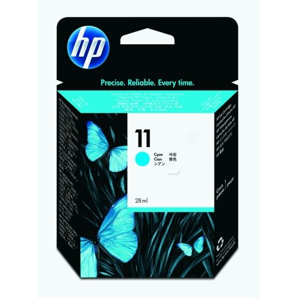 HP Tintenpatrone Nr. 11 cyan C4836AE