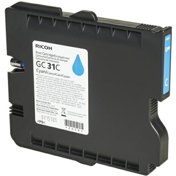 Ricoh Tintenpatrone GC-31C cyan 405689