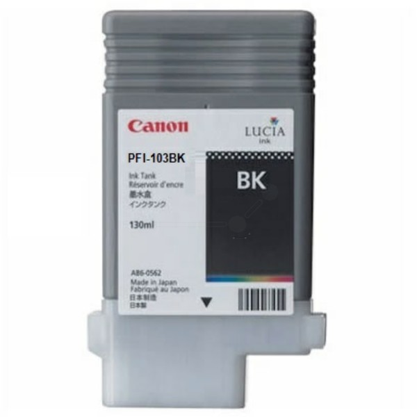 Canon Tintenpatrone PFI-103BK schwarz 2212B001