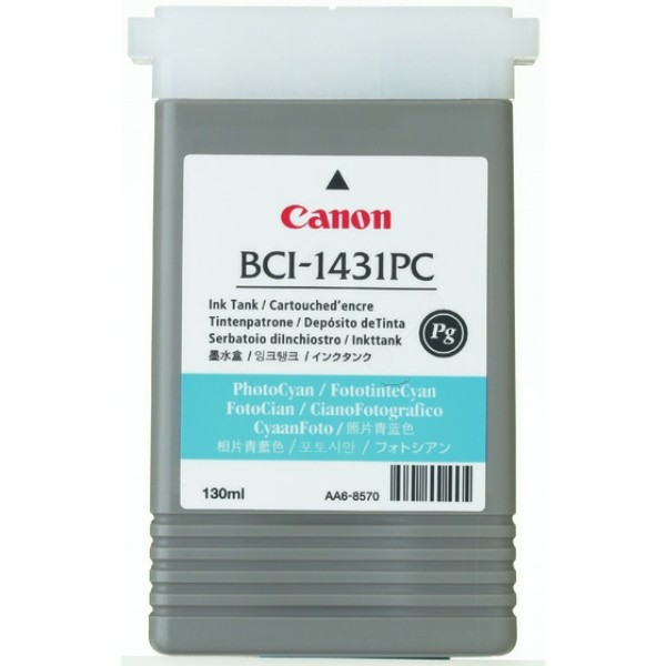 Canon Tintenpatrone BCI-1431PC cyan hell 8973A001