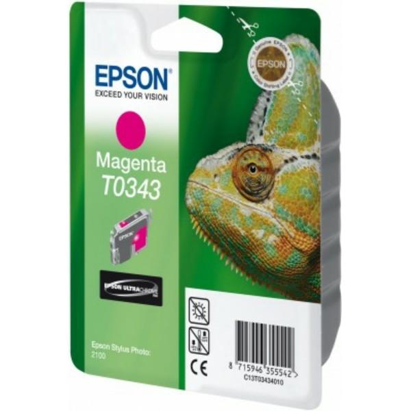 Epson Tintenpatrone T0343 magenta C13T03434010