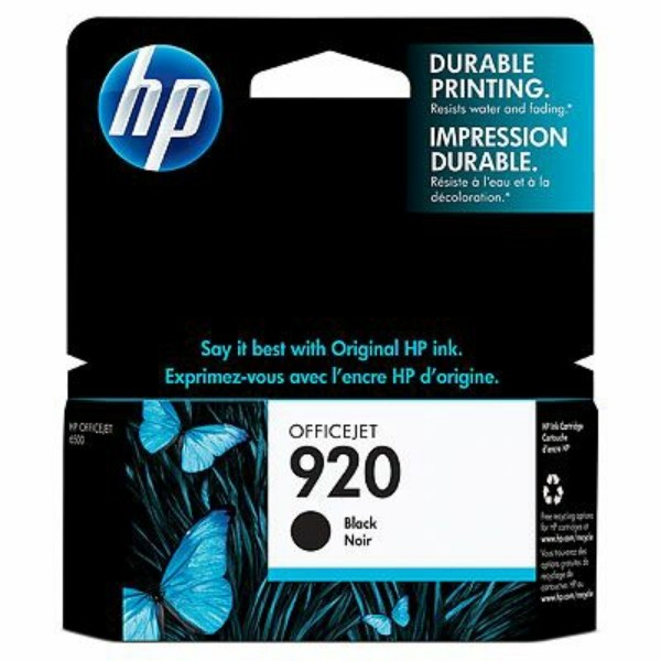 HP Tintenpatrone Nr. 920 schwarz CD971AE