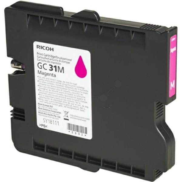Ricoh Tintenpatrone GC-31M magenta 405690